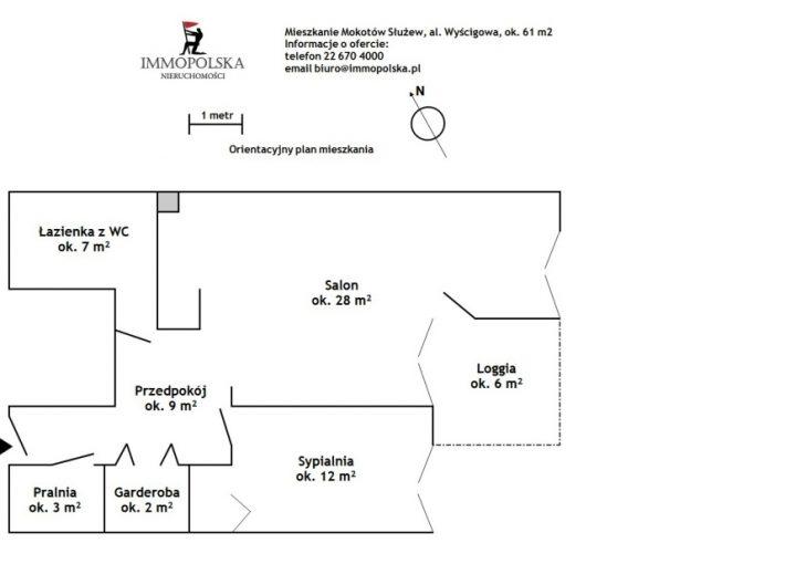 WYŚCIGOWA 02 plan mieszkania