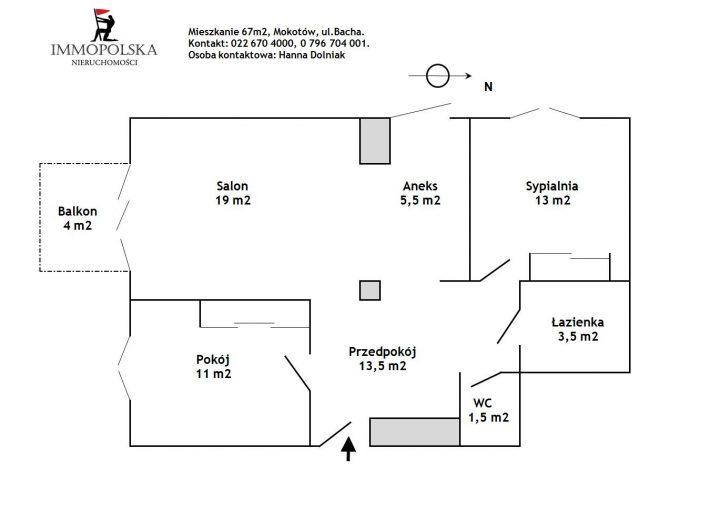 BACHA 02 plan mieszkania