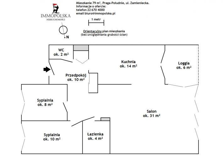 ZAMIENIECKA 02 plan mieszkania