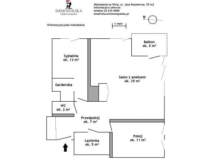 JANA KAZIEMIERZA 02 plan mieszkania