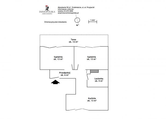 PRZYJACIÓŁ 02 plan mieszkania