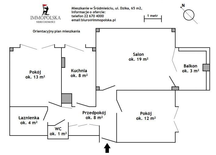 DZIKA 02 plan mieszkania