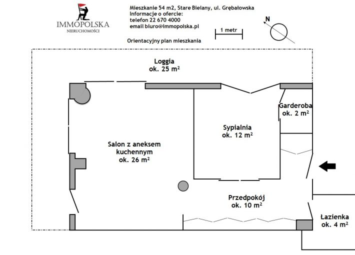 GRĘBAŁOWSKA 02 plan mieszkania