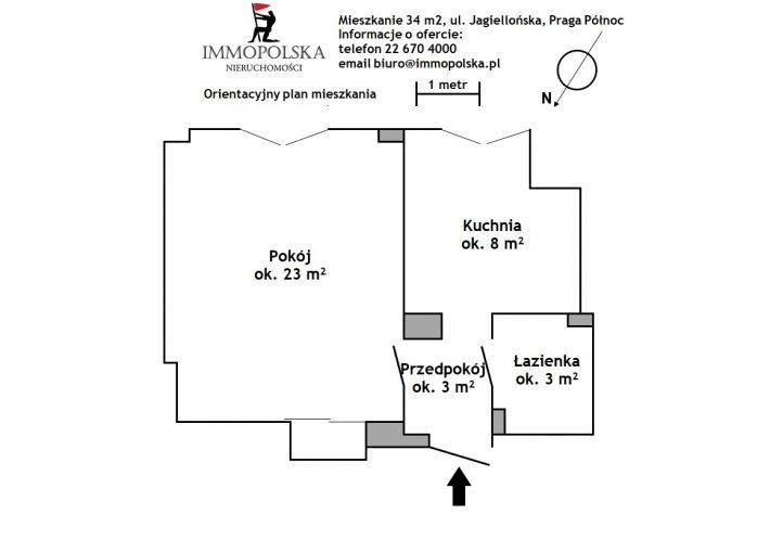 JAGIELLOŃSKA 02 plan mieszkania